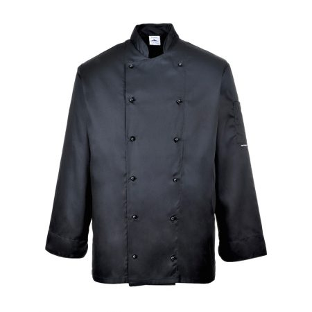 portwest-c834-somerset-chefs-jacket-black